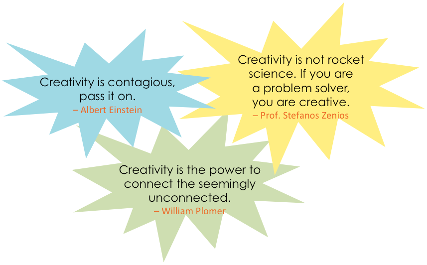 'Creativity is...' quotes